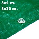 Toldos reforzados de 3x4 y 8x10