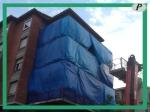 Toldos y lonas para la restauración fachada